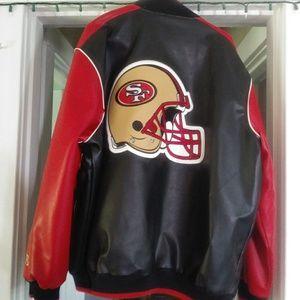 49'ers Letterman jacket